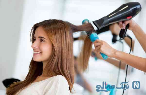 مضرات سشوار برای مو