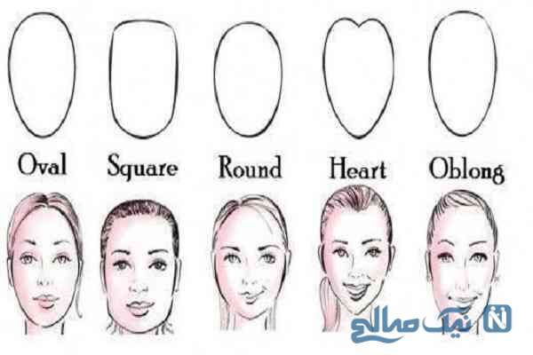 انتخاب بهترین مدل مو بر اساس فرم صورت