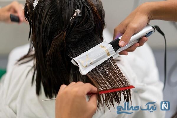 چطور موهای کوتاه فر را صاف کنیم؟