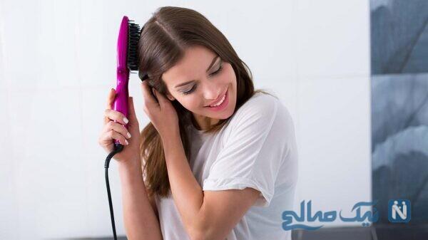 صاف کردن موهای کوتاه