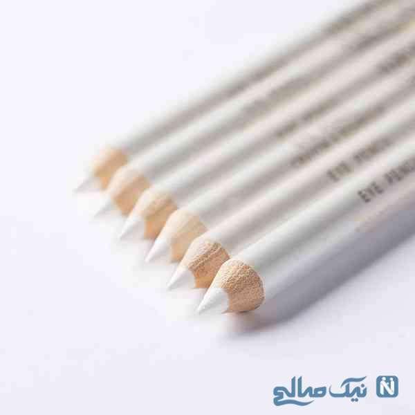 مداد سفید در آرایش