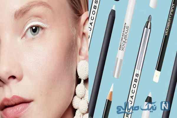 کاربرد مدادسفید در آرایش چشم
