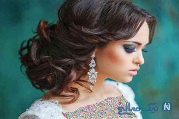 چند مدل موی جذاب برای عروس خانم ها+تصاویر