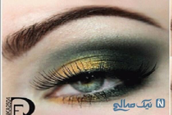 چهار ایده آرایش چشم مخصوص شب ۲۰۲۱ +تصاویر