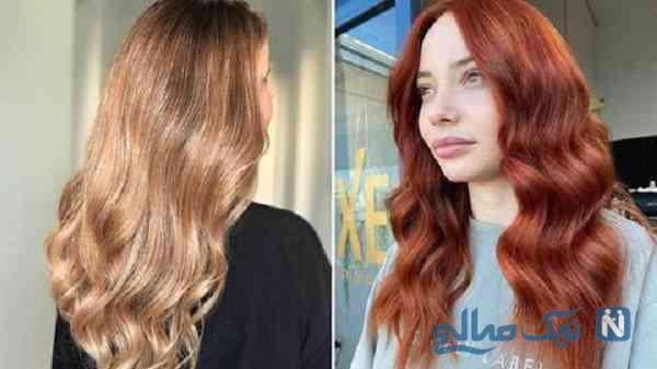 رنگ موی برای انواع پوست