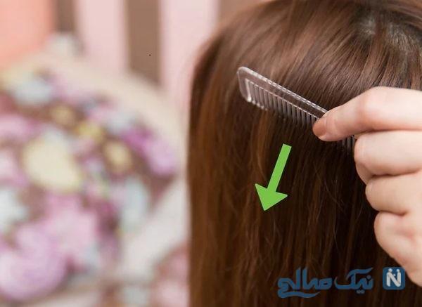 رفع کدری موی سر