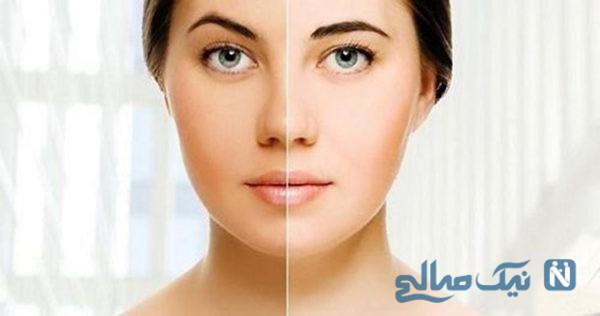 ماسک شفاف کننده پوست فوری