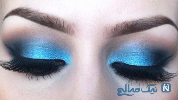 انتخاب رنگ مناسب سایه چشم
