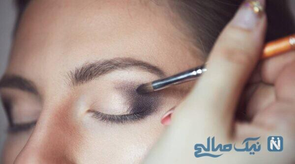 آرایش چشم برای خمار نشان دادن