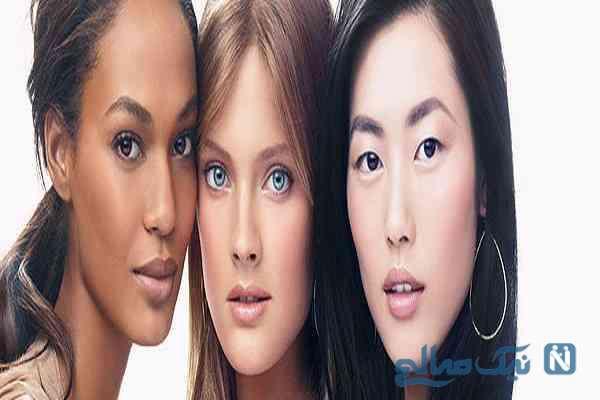 انتخاب صحیح رنگ مو بر اساس رنگ پوست و چشم