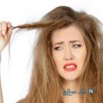 جلوگیری از گره خوردن مو و موهای وز شده