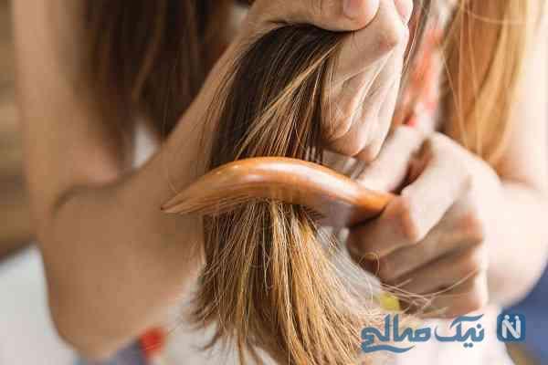 چگونه با روش های خانگی وز موهای مجعد را از بین ببریم؟