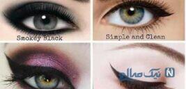 ۶ قدم برای داشتن آرایش چشم رویایی +عکس