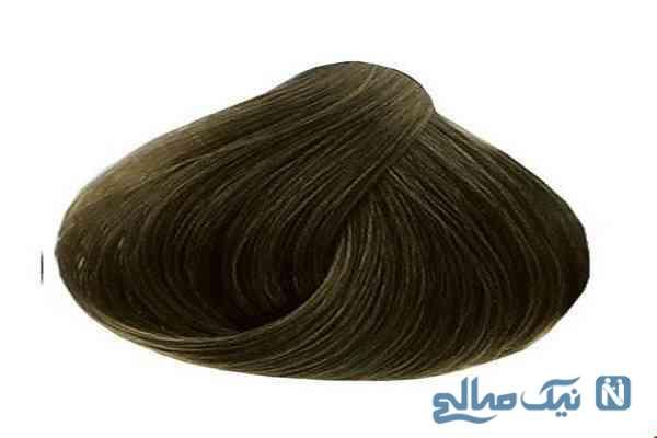 درآوردن رنگ موی زیتونی روی موهای مشکی