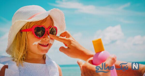 کرم ضد آفتاب و ضدلک