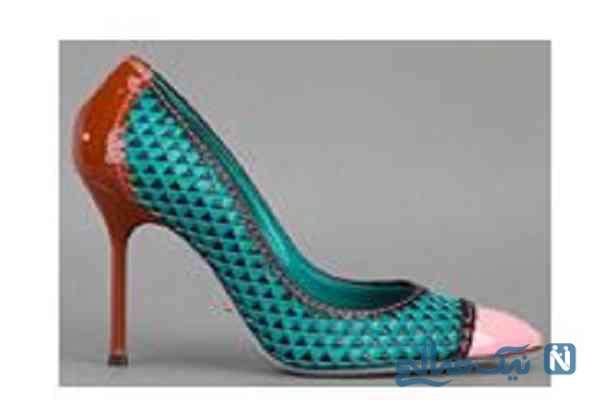 گالری تصاویر زیباترین کفش های پوست ماری زنانه