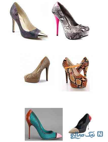 کفش های پوست ماری