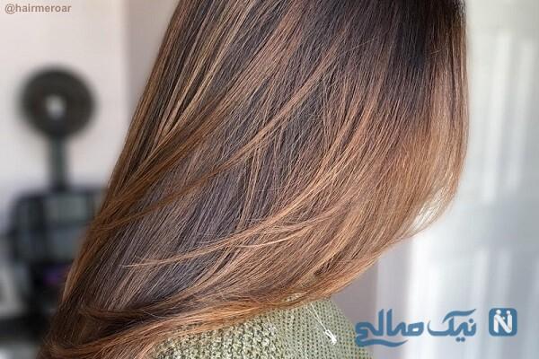 رنگ موی زیتونی را چگونه نسکافه ای کنیم؟