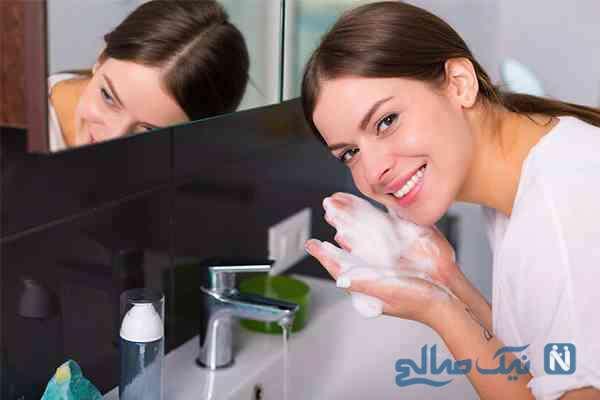 آیا صابون برای پوست صورت مفید است ؟