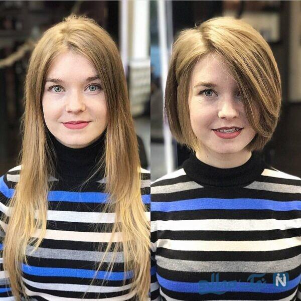 موهای کوتاه