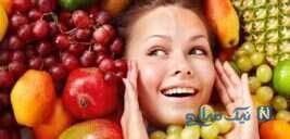 تاثیرات مثبت خوردن میوه روی پوست!