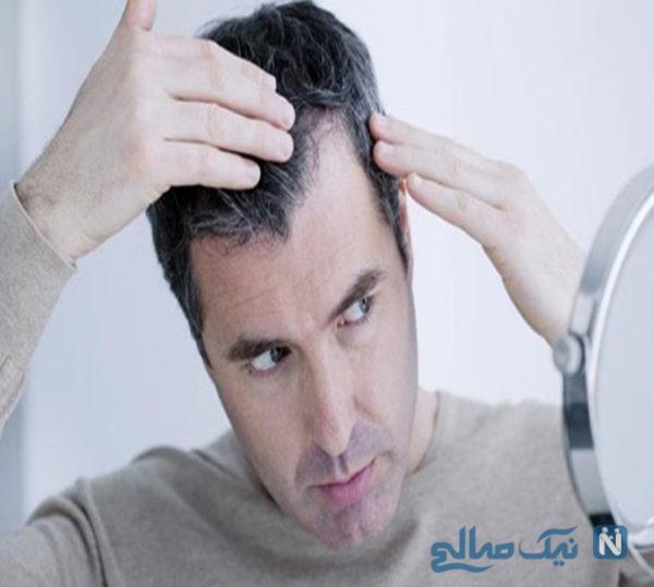 راه های رفع سفیدی مو