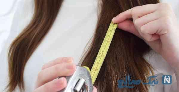 عوامل رشد سریع مو