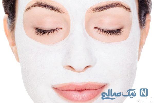 ماسک طبیعی پوست صورت