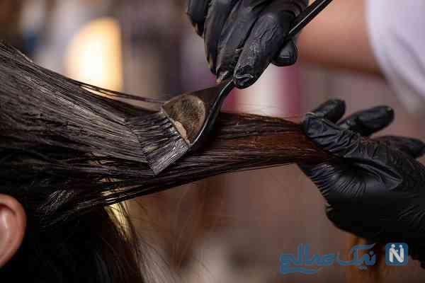 موادسنتی برای رنگ مو