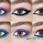 انتخاب رنگ ریمل و سایه در آرایش چشم!
