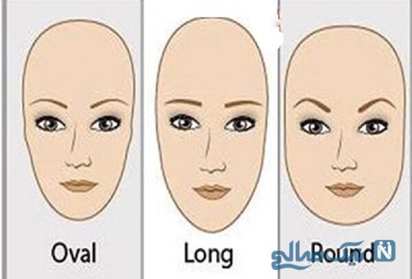مدل ابروی مناسب فرم صورت