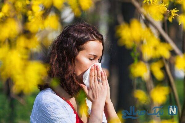 حساسیت پوستی در بهار