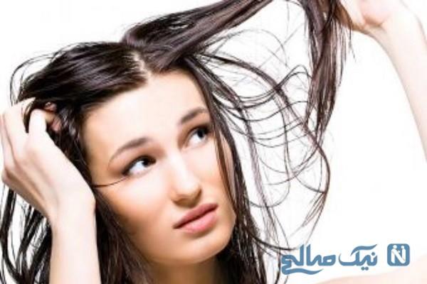 برای حالت دادن موهای چرب از چه توصیه هایی باید کمک بگیریم؟
