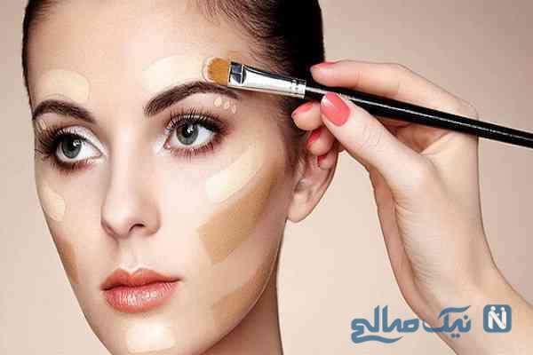 با کمک چه ترفندهای آرایشی می توانید عیوب صورتتان را برطرف کنید؟!