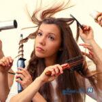 راه حل های موثر برای حالت دادن موها