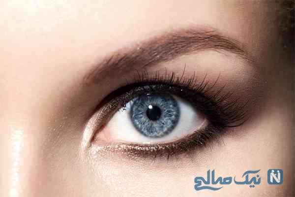 انتخاب رنگ لنز چشم متناسب با رنگ پوست!