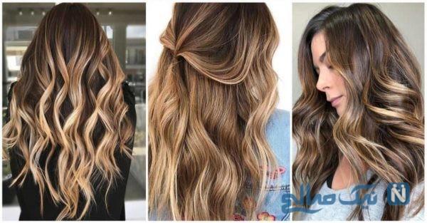 آسان ترین روش رنگ مو