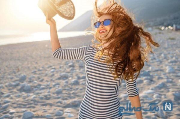 مو در تابستان