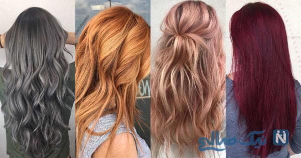 رنگ موی سلامت