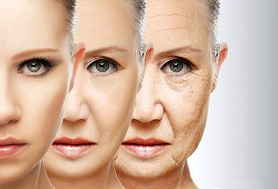 روند پیری پوست