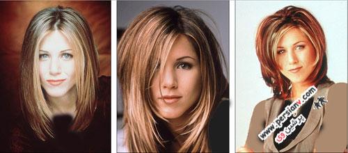 نگاهی بر مدل موهای همسرسابق برد پیت در طی سال ها +تصاویر