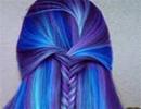 نکاتی در مورد استفاده از رنگ موهای فانتزی