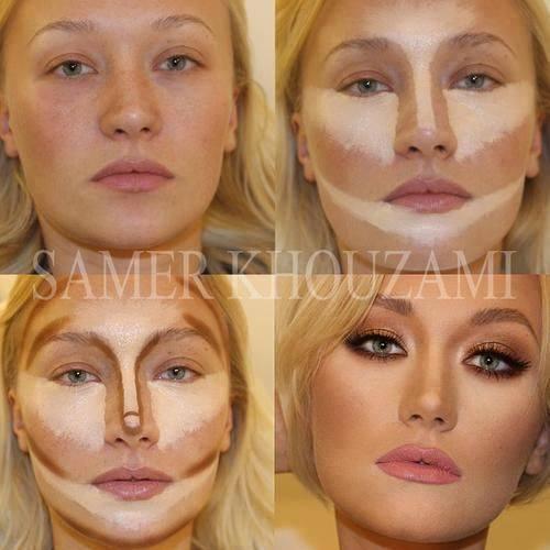 آموزش تصویری گریم صورت به زیباترین شکل