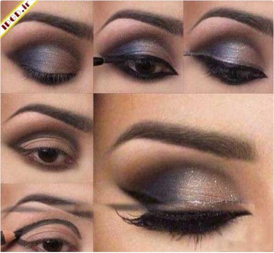 مدل های متنوع از آرایش چشم +تصاویر