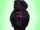 مدل گوجه ای بستن موها