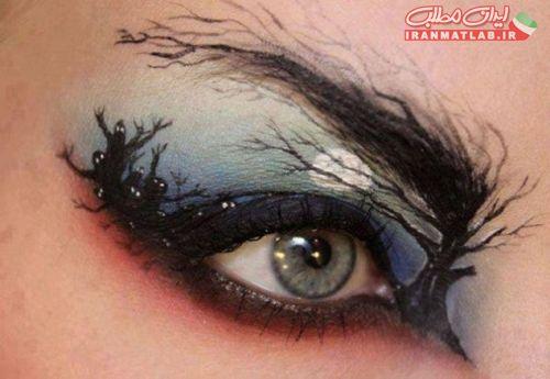 عجیب ترین مدلهای سایه ها و آرایش چشم+تصاویر