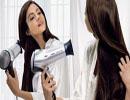 چگونه موهای خود را اتو و سشوار کنیم؟!