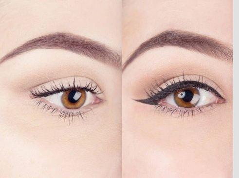 کشیدن خط چشم به شکلی خیلی راحت و آسان با این راهکار!+تصاویر