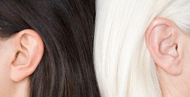موهای سفید و چاره ای برای برطرف کردن این مشکل!