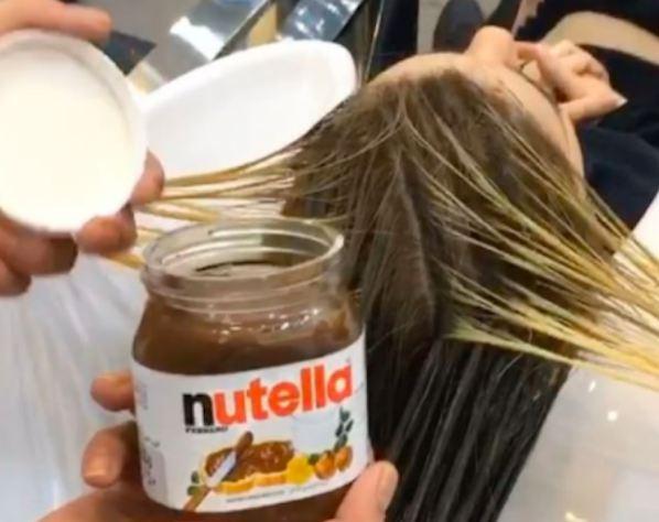 آیا میدانستید که با کمک نوتلا می توانید موهایتان را رنگ کنید!؟